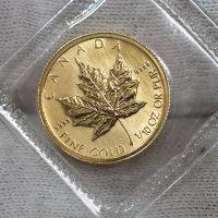 純金メイプルリーフ1/10オンスコイン