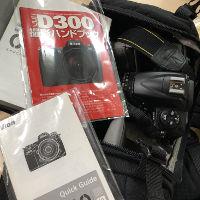 キャノン D300 レンズキットを買い取りました