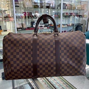 ダミエ 旅行バッグ キーポル50