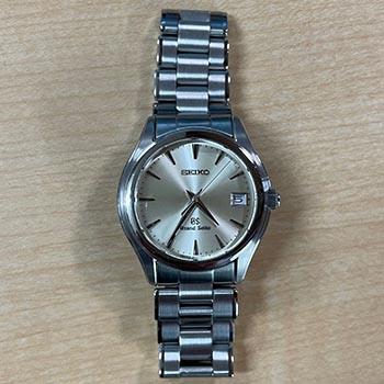 買取したグランドセイコーの時計