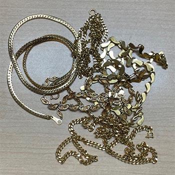買取したネックレス