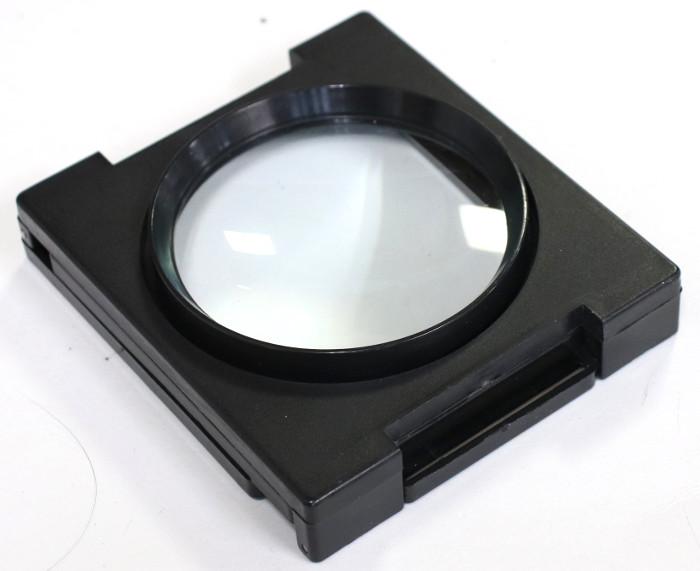 畳んだ拡大鏡の写真