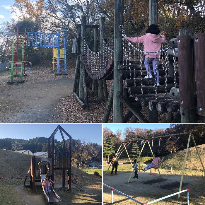 公園の大型遊具