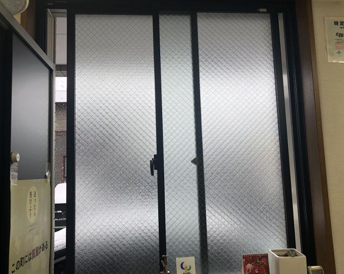 開けられた窓