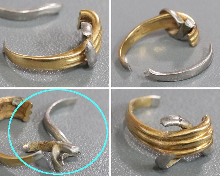指輪を更に破壊
