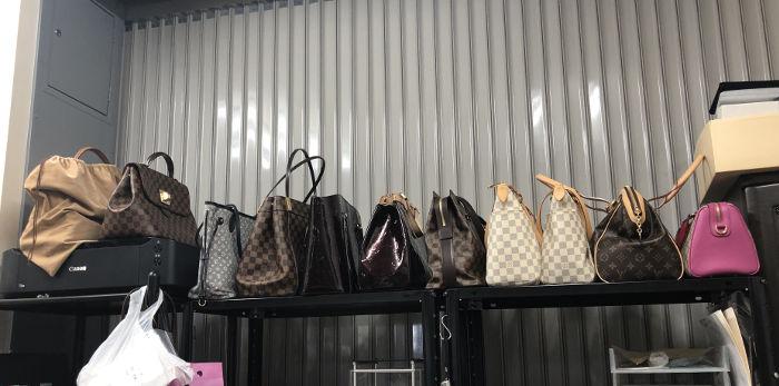 バッグヤードのバッグ達