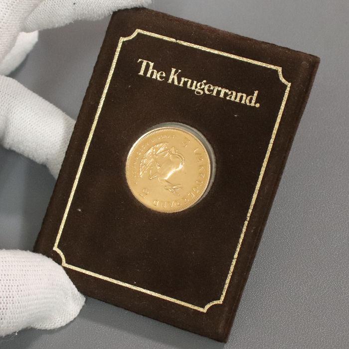買取したクルーガーランド金貨