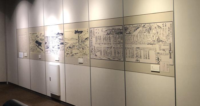 内部の展示物