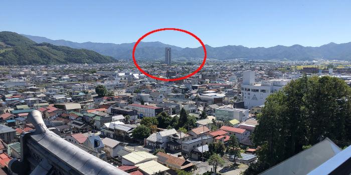 とても高い建造物